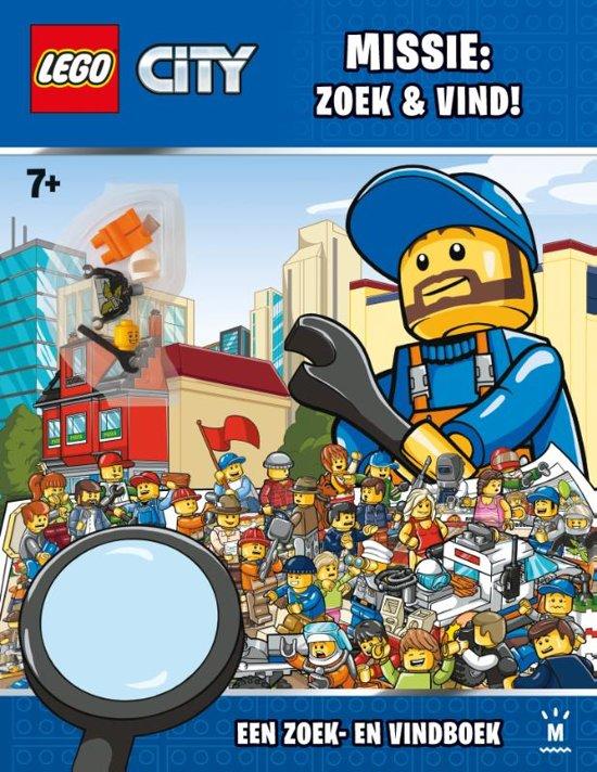 LEGO City: Zoek-en-vind boek