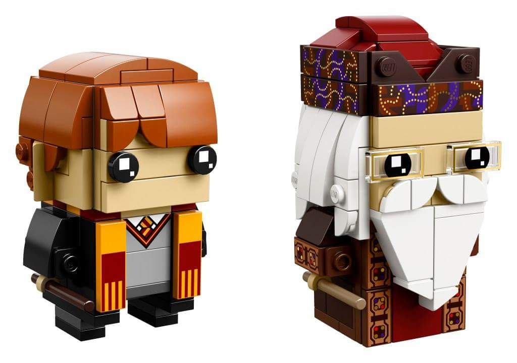 LEGO BrickHeadz 41621 Ron Weasley and Albus Dumbledore