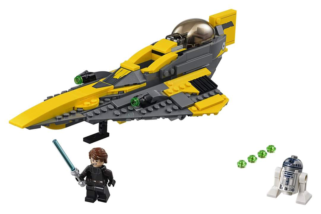 LEGO Star Wars 75214 Anakin's Starfighter