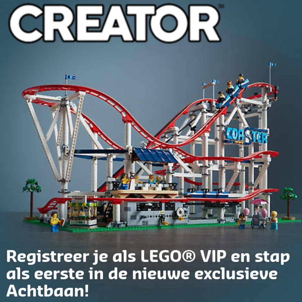 LEGO 10261 Roller Coaster banner