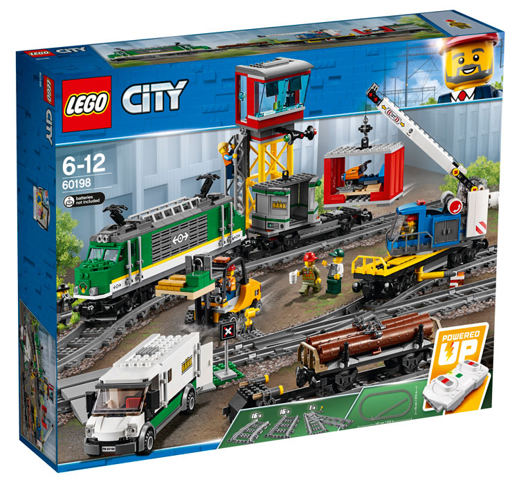 LEGO City 60198 Freight Train