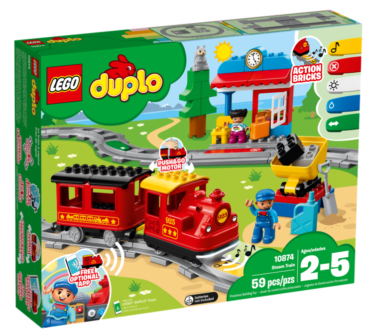 LEGO Duplo 10874Stoomtrein