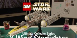LEGO Star Wars 75181 UCS Y-Wing Starfighter Designer Video