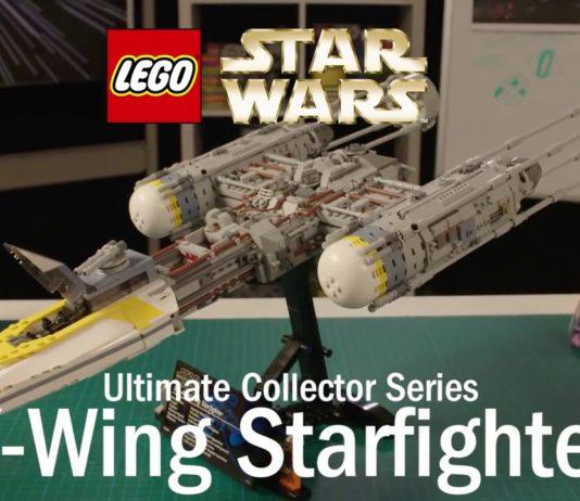 LEGO Star Wars 75181 UCS Y-Wing Starfighter Designer Video