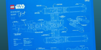 LEGO Star Wars 75181 UCS Y-wing Starfighter Blueprint
