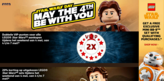 LEGO Star Wars May the 4th promoties 2018