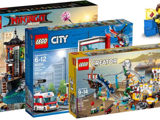 LEGO zomer 2018 sets