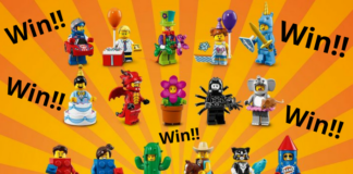 Win een serie LEGO Minifigures Series 18