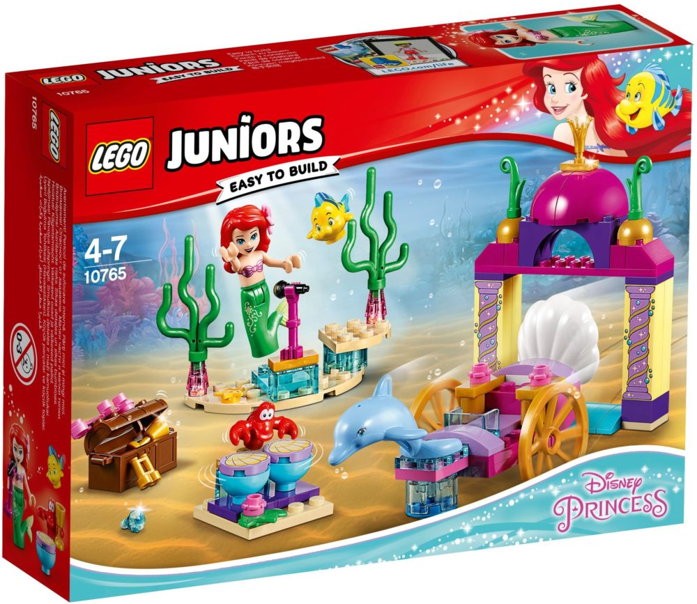 LEGO Juniors 10765 Ariel's onderwaterconcert