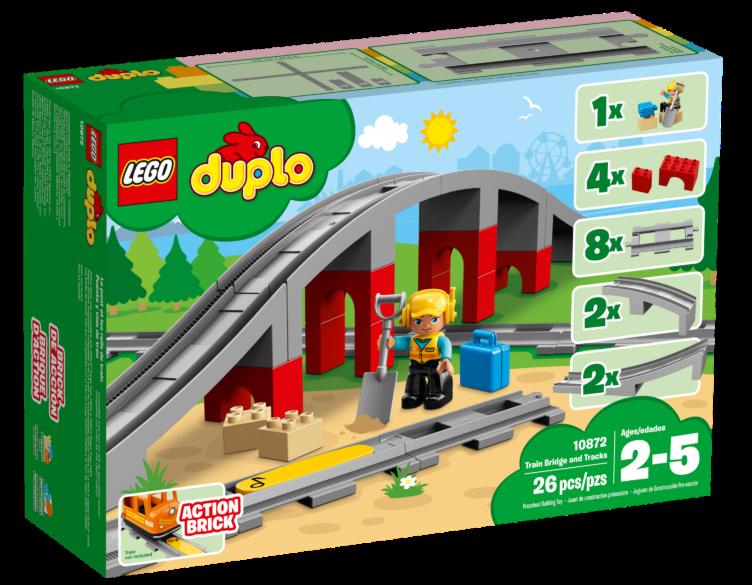 LEGO Duplo 10872Treinbrug en rails