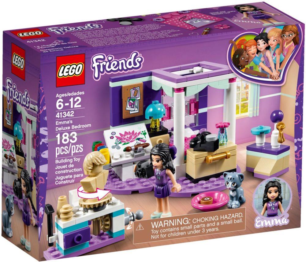 LEGO Friends41342 Emma's luxe slaapkamer