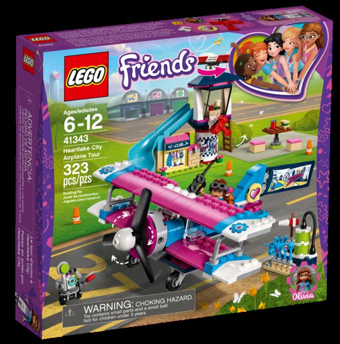 LEGO Friends41343 Heartlake City vliegtuigtour