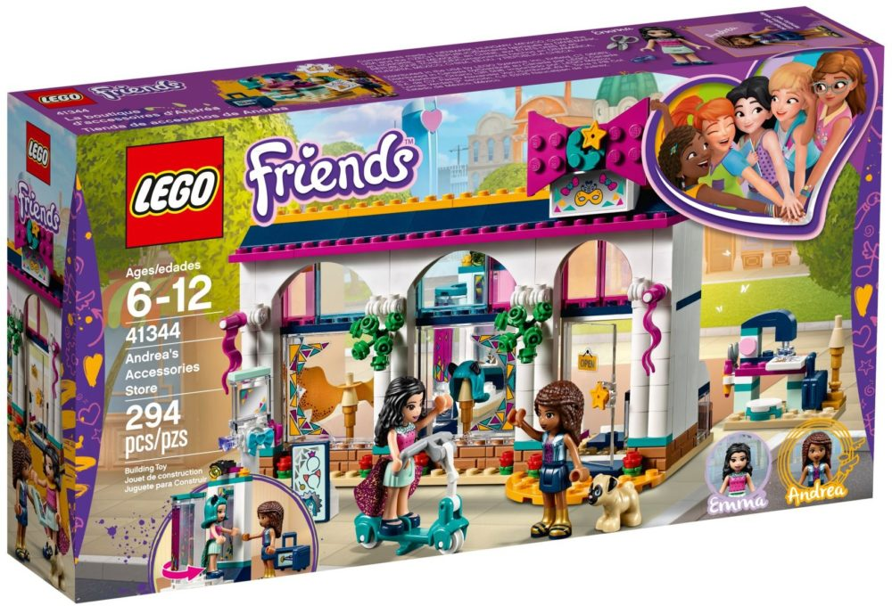 LEGO Friends41344 Andrea's accessoirewinkel