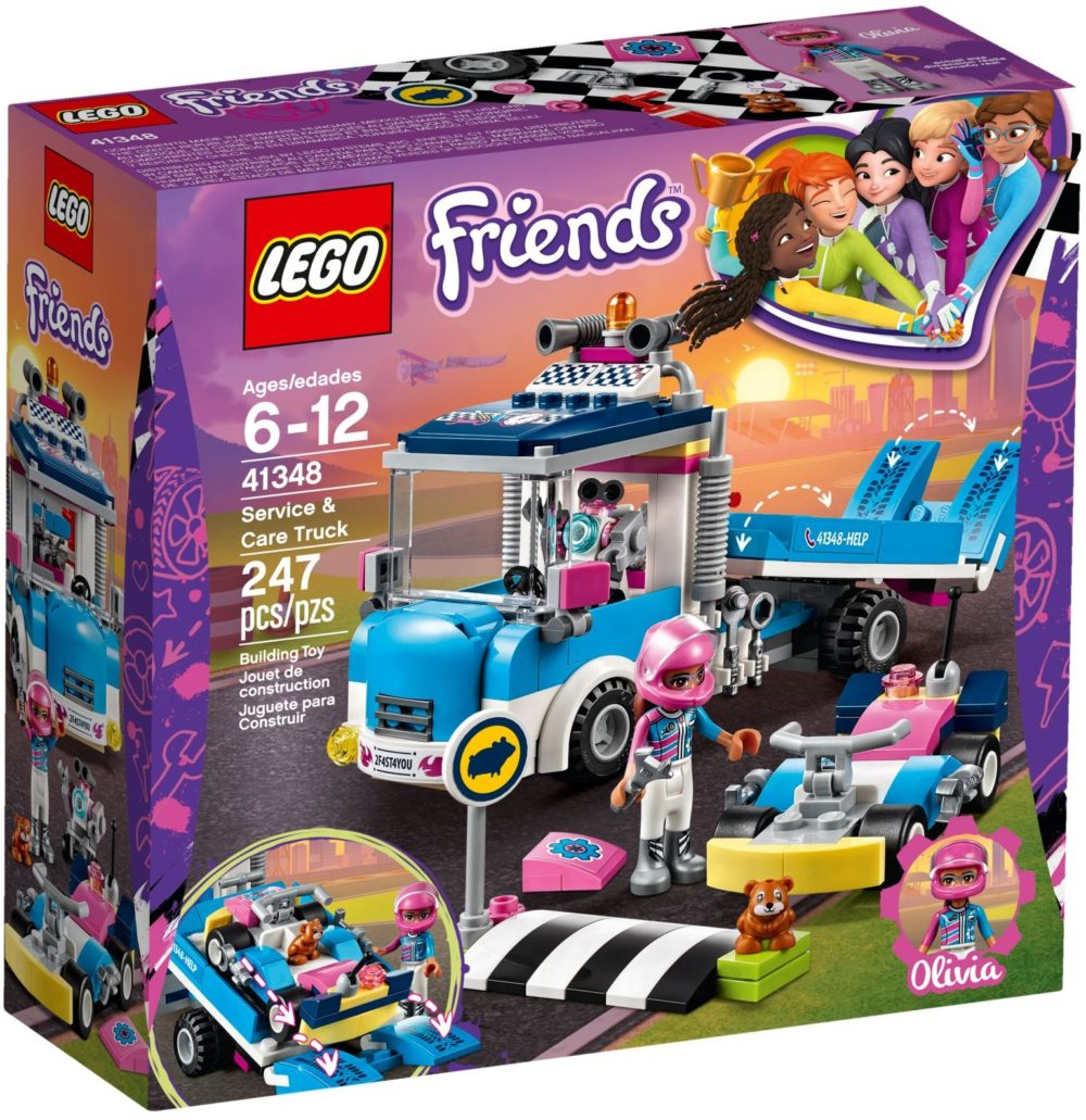 LEGO Friends41348 Onderhouds en reparatietruck