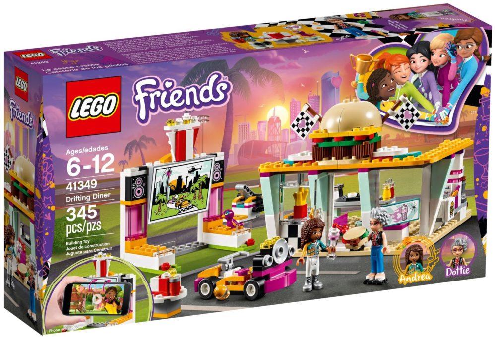 LEGO Friends41349 Go-kart diner