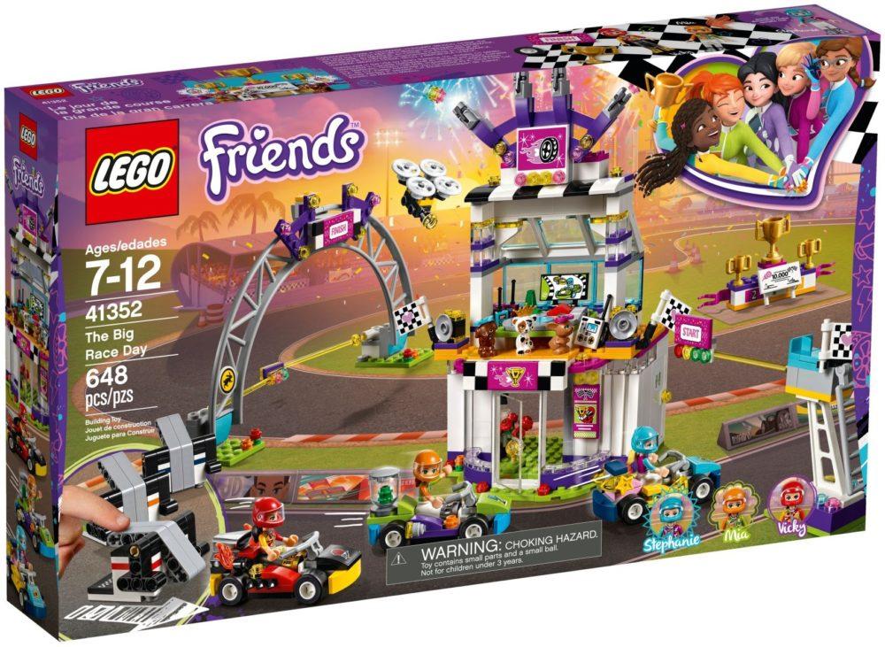 LEGO Friends41352 De grote racedag