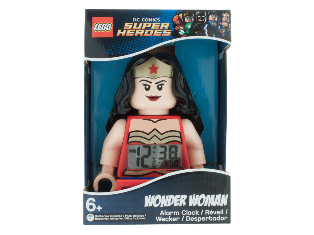 LEGO 5004538 LEGO DC Wonder Woman klok