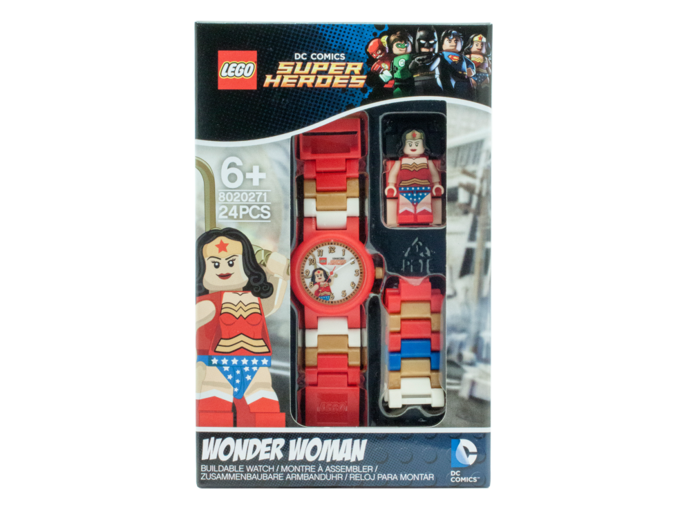 LEGO 5004539 LEGO Wonder Woman horloge