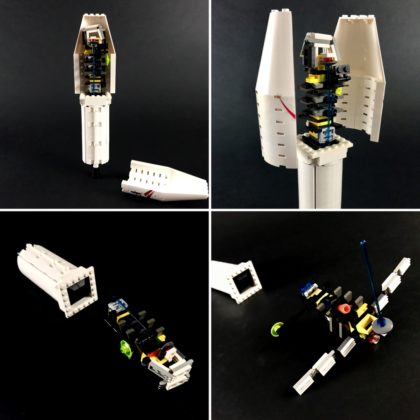 LEGO Ideas SpaceX Falcon Heavy