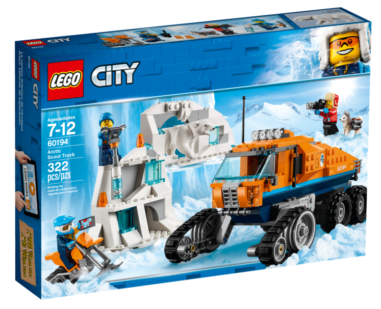 LEGO City 60194Poolonderzoekstruck