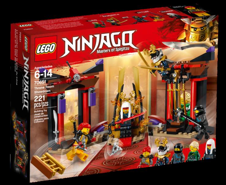 LEGO Ninjago 70651Troonzaalduel