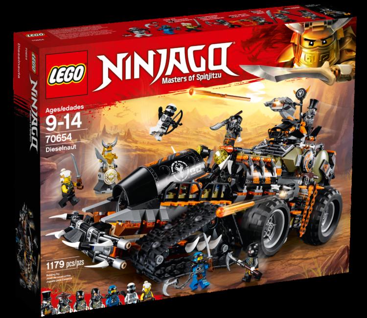 LEGO Ninjago 70654Dieselnaut