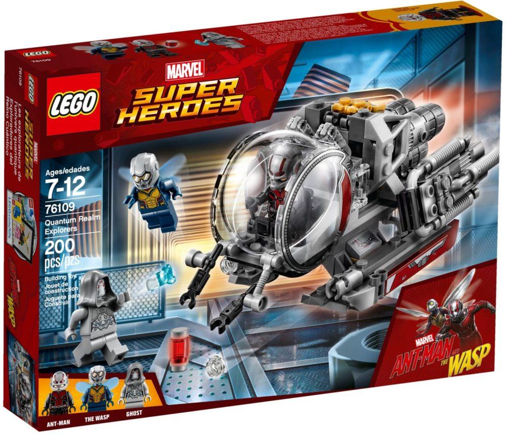 LEGO Marvel 76109 Onderzoekers van het Quantum rijk