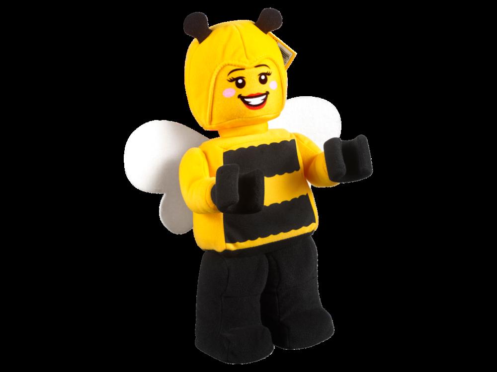 LEGO 853802 Bijenmeisje minifiguur van zachte stof