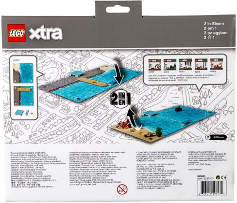 LEGO Xtra 853841 Play Mats Water