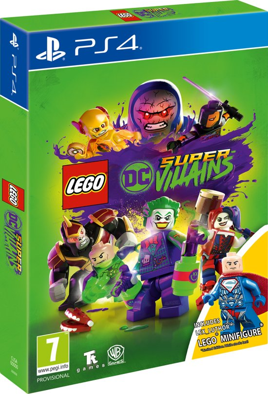 LEGO DC Comics Super Villains