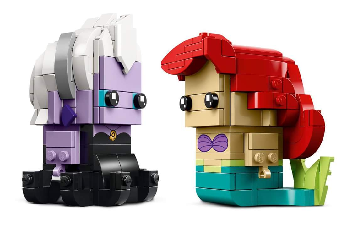 LEGO BrickHeadz 41623 Ariel and Ursula