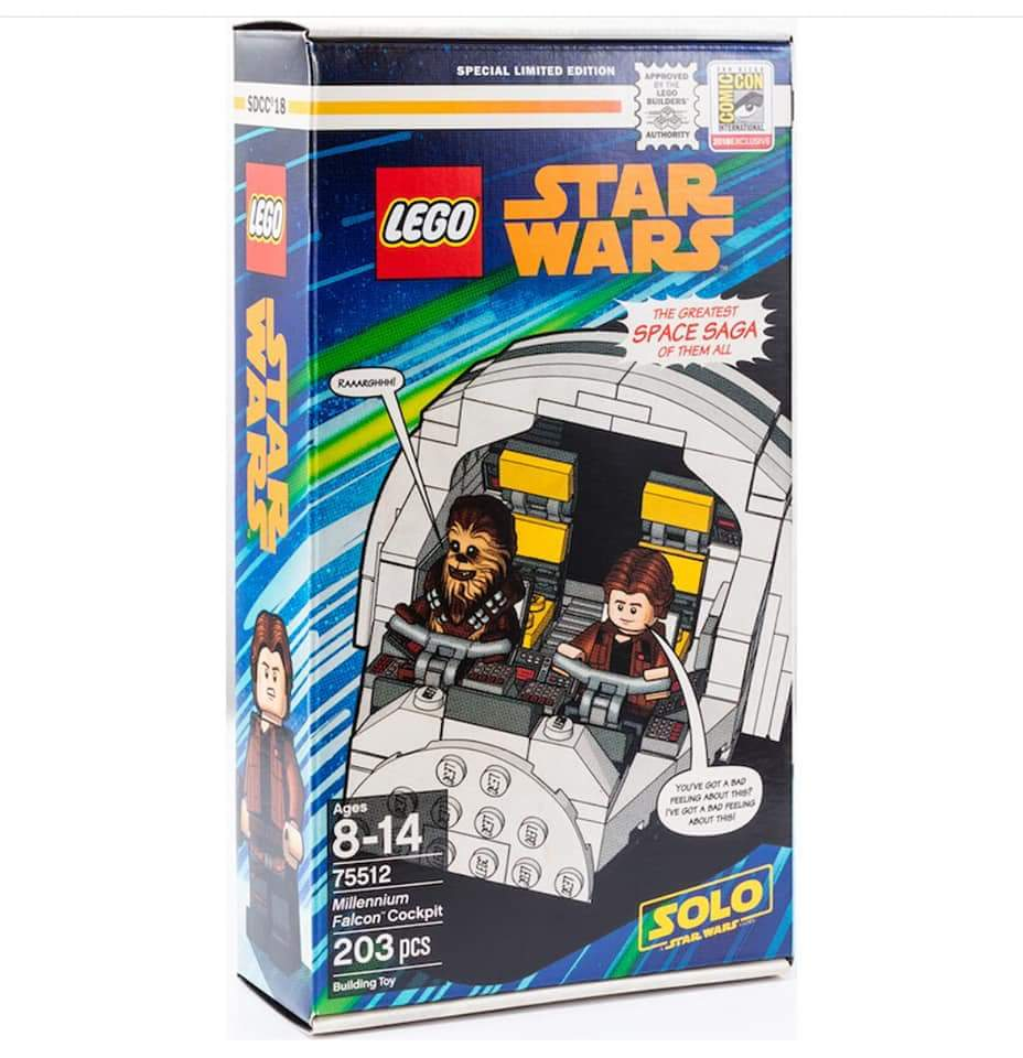 LEGO SDCC 2018 Exclusive