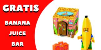 Gratis LEGO Banana Juice Bar set