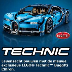 LEGO Bugatti banner