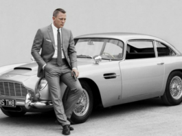 James Bond en Aston Martin