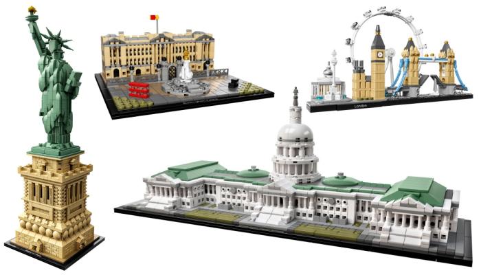 LEGO Architecture vaderdag