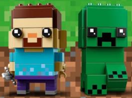 LEGO BrickHeadz 41612 Steve and Creeper