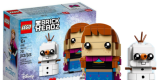 LEGO BrickHeadz 41618 Anna and Olaf