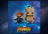 LEGO BrickHeadz 41626 Rocket and Groot