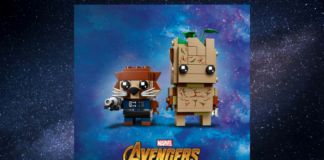 LEGO BrickHeadz 41626 Rocket and Groot