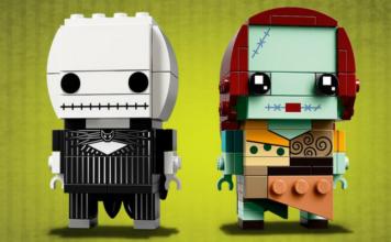 LEGO BrickHeadz 41630 Jack Skellington and Sally