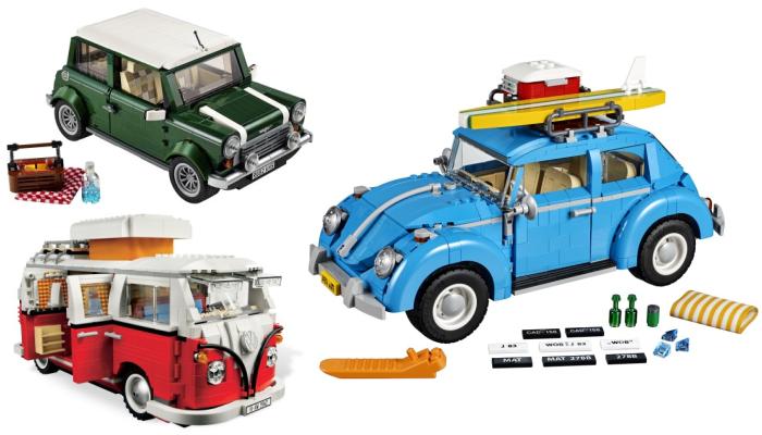LEGO Creator auto's vaderdag