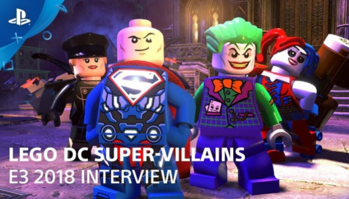 LEGO DC Super-Villains gameplay demo