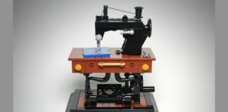 LEGO Ideas Antique Sewing Machine