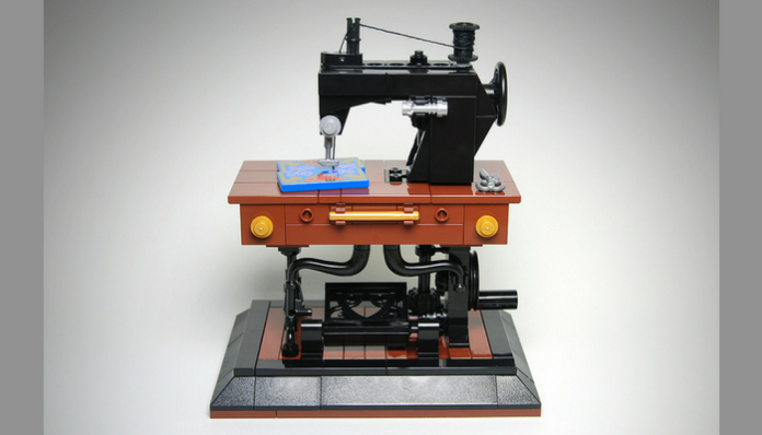LEGO Ideas Antique Sewing Machine