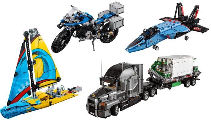 LEGO Technic vaderdag