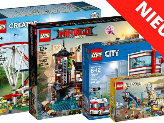 LEGO sets 2H2018