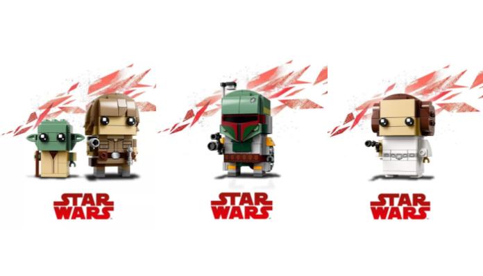 Nieuwe LEGO Star Wars BrickHeadz