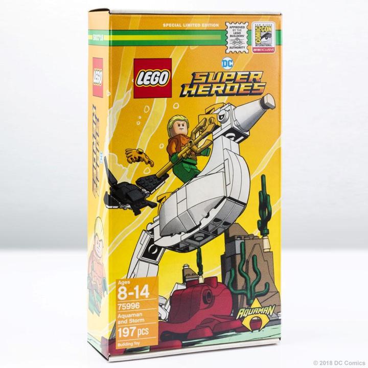 LEGO DC Comics SDCC Exclusive 2018
