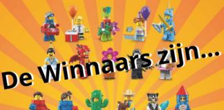 Uitslag Minifigures Series 18 winactie